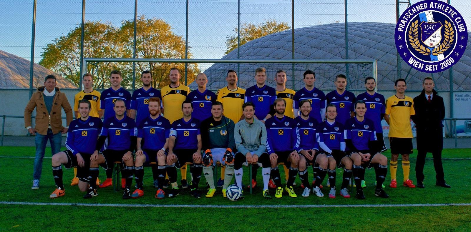 Kampfmannschaft PAC Wien Saison 2015/2016